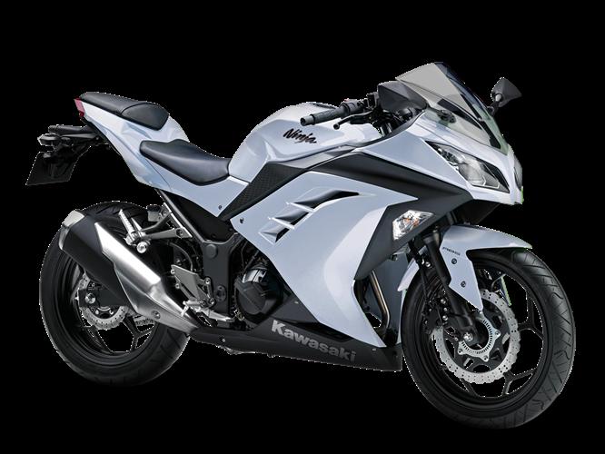 White  Kawasaki Ex