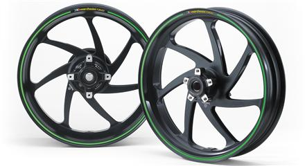 Marchesini 7-spoke aluminium wheels