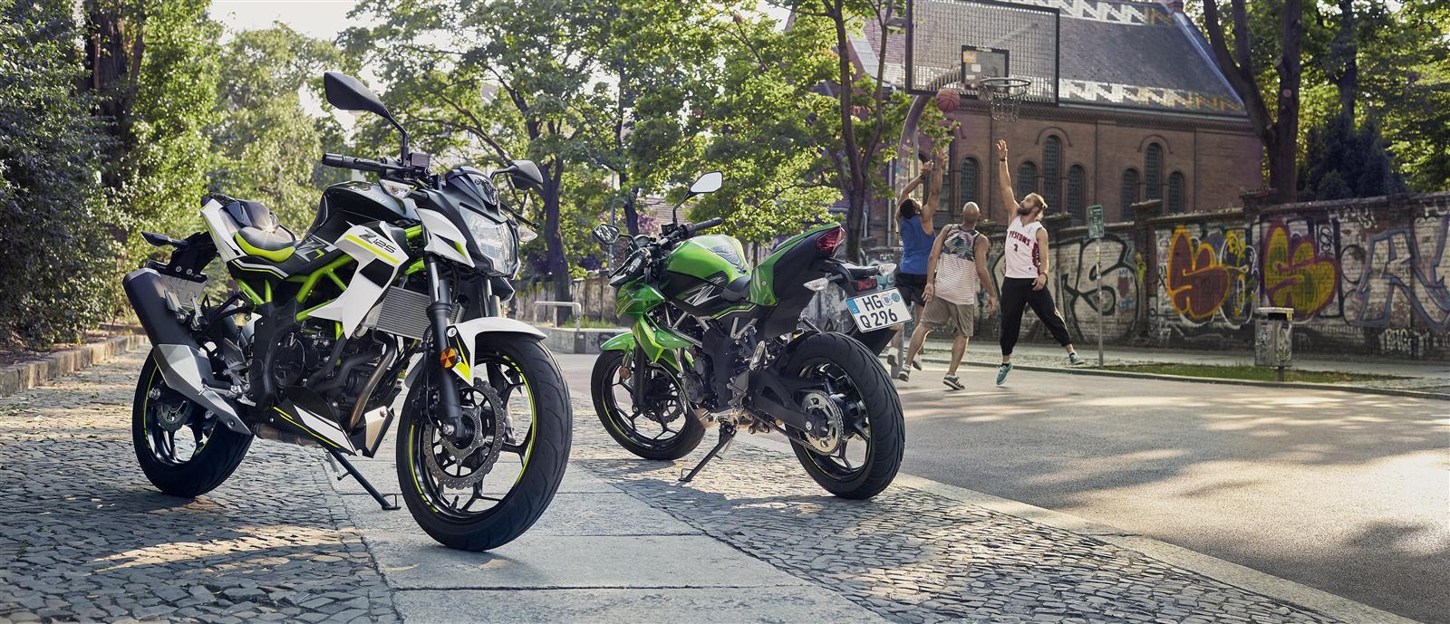Z125 My 2019 Kawasaki Europe