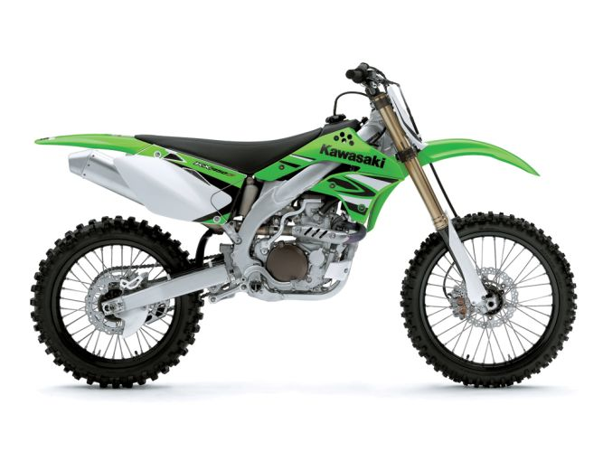 Lime Green with factory-style graphics.