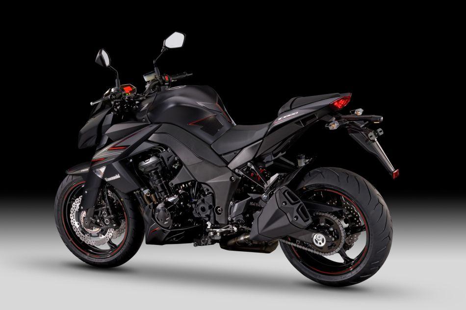 Z1000 Black Edition 12MY 3 4 Rear