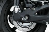 Doppio freno a disco motociclistico