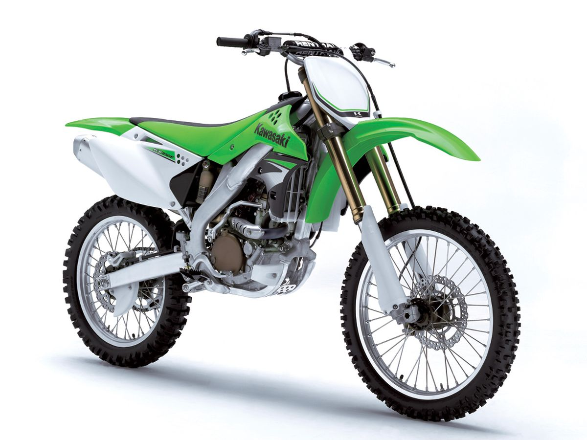 moto kawasaki de motocross