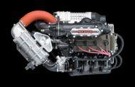 Tehokas 1498 kuutioinen moottori