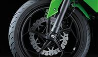 Lightweight wheels with slim tyres