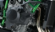 Power Unit Designed to Withstand the 300 PS Output of the Closed-course Ninja H2R