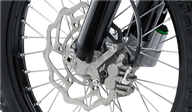 Large-diameter brake discs