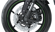 Radial-mount monobloc calipers