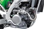 449 cm3 liquid-cooled, 4-stroke Single with battery-less fuel injection