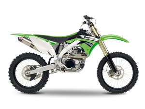 KX450F Leo Vince Limited Edition<br> (UK only)  2012