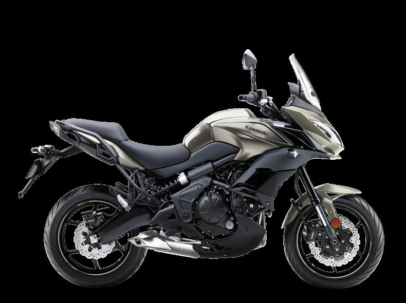 moto kawasaki trail 650
