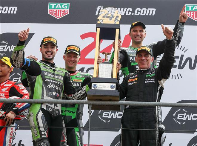 Le Mans 24 hours: SRC Team Kawasaki France victorious