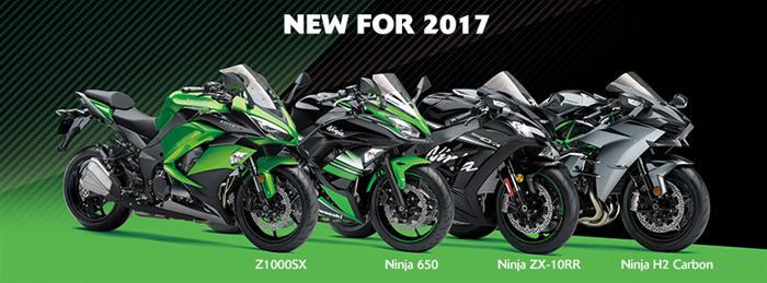 Kawasaki Models for 2017