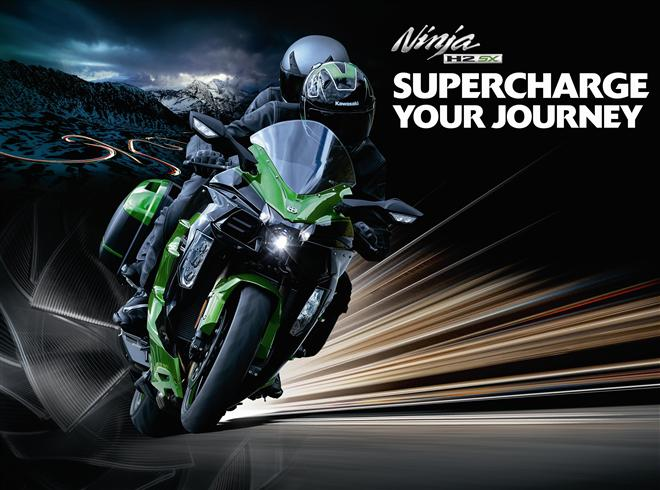 Ninja H2 SX– Supercharge your journey