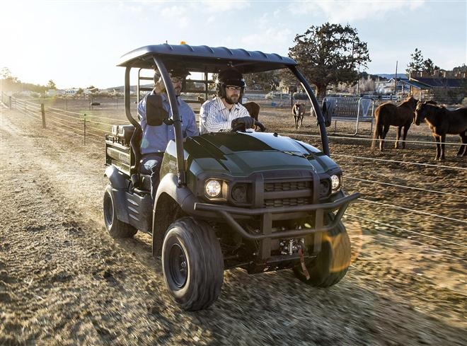 New MULE SX 4x4 FI offers fuel injected versatility