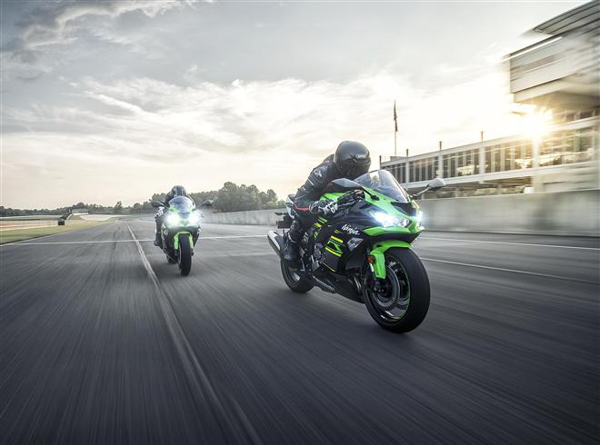 2019 debut for new sublime road Supersport Ninja ZX-6R
