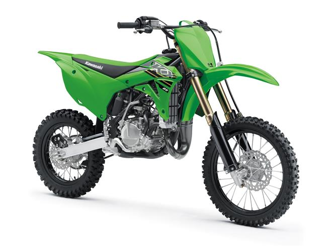 First machines in Kawasaki's 2021 off-road competition range unveiled