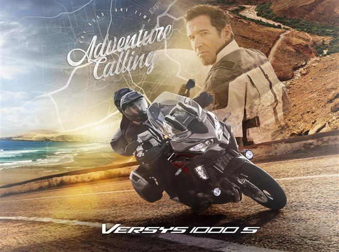 Adventure calls for the new 2021 Versys 1000 S