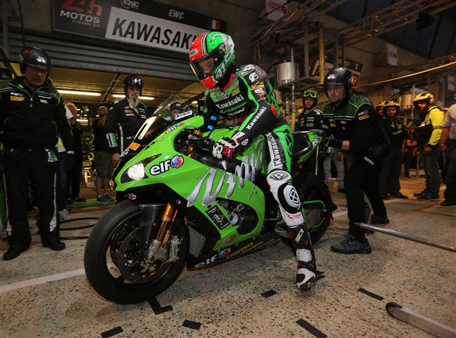 Kawasaki SRC in pole position for 40th Le Mans 24 Hours.