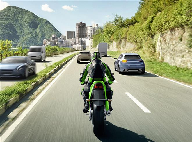 Kawasaki to be First Japanese Motorcycle Manufacturer to Include Bosch's Advanced Rider Assistance System