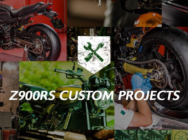 Leading custom houses take Z900RS to new places