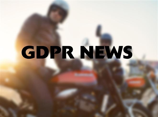 GDPR News from Kawasaki