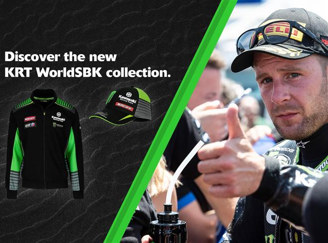 2019 Kawasaki KRT clothing range in Pole Position