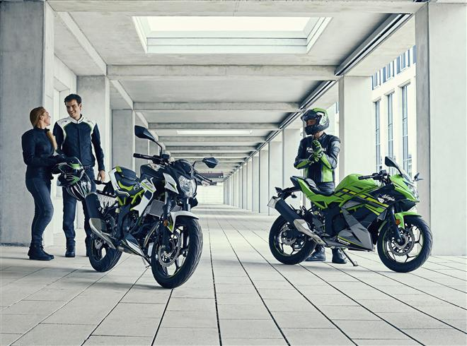Kawasaki unveils Ninja 125 or Z125: The Toughest Choice