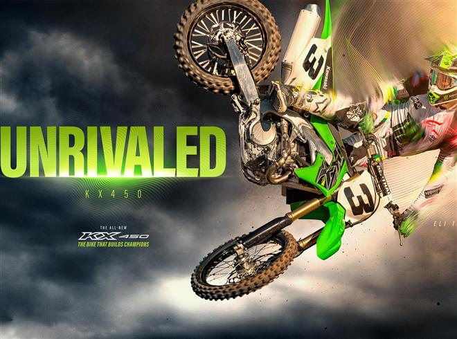 New KX450 unrivaled in its class