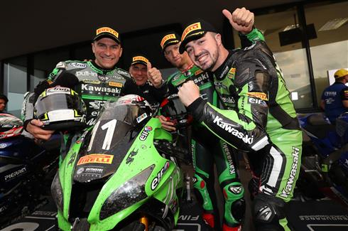 Oschersleben 8Hrs : Podium for Team SRC Kawasaki France