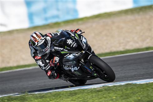 Rea Tops Jerez Times As Haslam Makes Progress