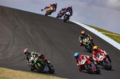 Rea Second And Sykes Fourth In Aussie Thriller