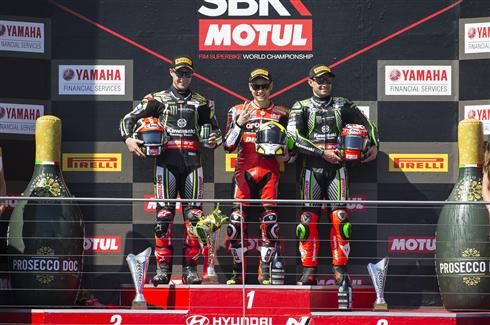 Rea And Haslam Earn Podium Finishes