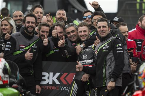 Masterful Race One Win For Rea In Spain