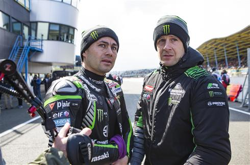 WorldSBK Race One Cancelled For Rea and Haslam
