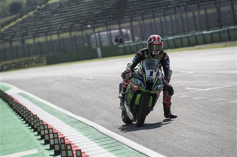 KRT Riders Complete Early Imola Preparations