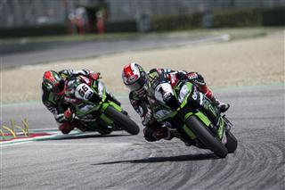 Sunday Podium Finishes For KRT Riders At Imola