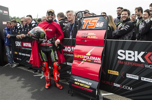 Superpole Man Sykes Scores Historic Record