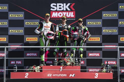 Kawasaki Locks Out The Jerez Podiums