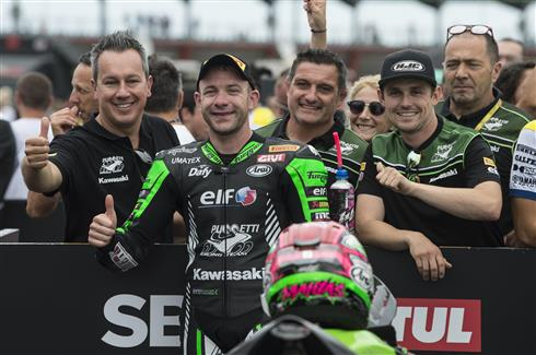 Donington Podium The Target For Kawasaki Riders