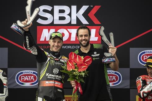 Race And Superpole Wins For Rea