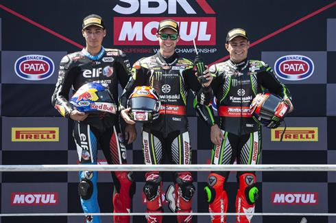 Rea Wins Kawasaki Podium Lockout