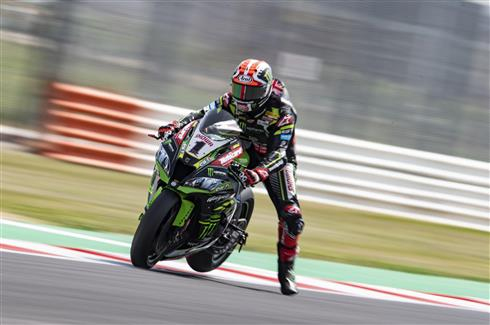 Rea Second Fastest Under The Misano Sun
