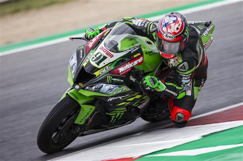 Home Race For Kawasaki's Top Two