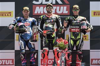 Sykes Wins And Rea Third After Misano Drama
