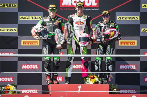 Deroue Wins WorldSSP300 Face Off With Gonzalez
