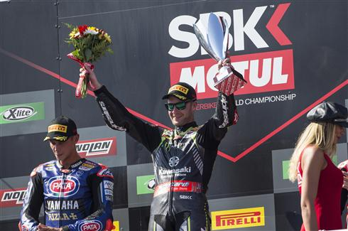 Double For Rea As Sykes Takes Fifth Place