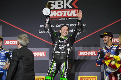 Mahias Secures Second Kawasaki Race Win