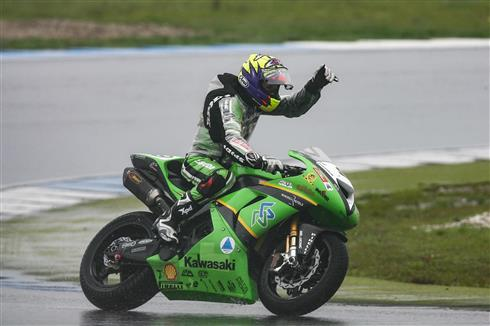 Assen WorldSBK 2006: Walker the WInner