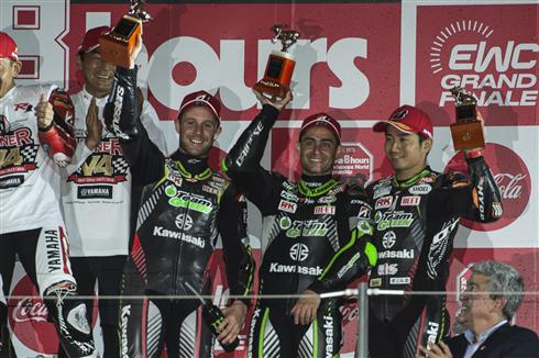Kawasaki Team Green third at Suzuka